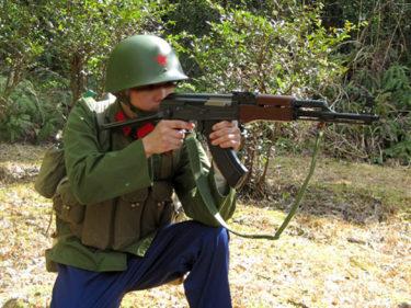 1960~1970年代的空軍傘兵 ~ 中国人民解放軍 空軍 空降兵装備 [56-1式小銃 (AKS-47)]