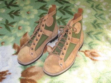 中国人民解放軍 65式傘兵靴 (実物)