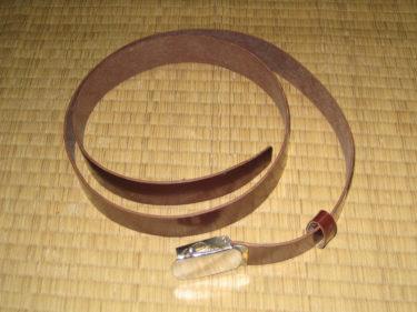 中国人民解放軍 65式ズボン用ベルト (実物)