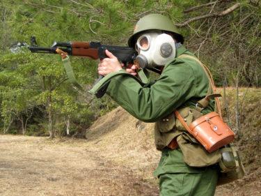 1980年代的陸軍士兵 ~ 中国人民解放軍 陸軍 軍官装備 [56-1式小銃 (AKS-47)]