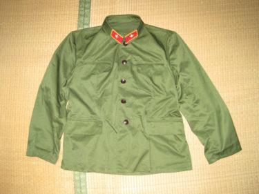 中国人民解放軍 85式軍服・軍官用 (実物)