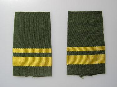 中国人民解放軍 陸軍/空軍 87式套式肩章 (実物)
