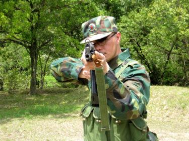 1990年代的陸軍士兵 ~ 中国人民解放軍 辺防部隊装備 [56-2式小銃]