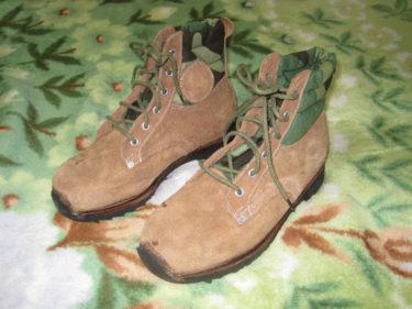 中国人民解放軍 91式傘兵靴 (実物)
