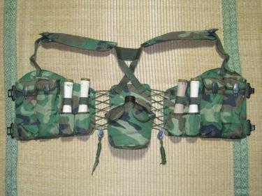 中国人民解放軍 91式単兵携行具・1996年製 (実物)