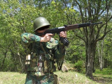 1990年代的陸軍士兵 ~ 中国人民解放軍 91式単兵装備・初期型 [81-1式小銃]
