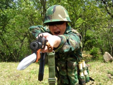 1990年代的陸軍士兵 ~ 中国人民解放軍 91式単兵装備・後期型 [81-1式小銃]