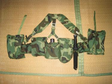 中国人民解放軍 99式傘兵携行具 (実物)