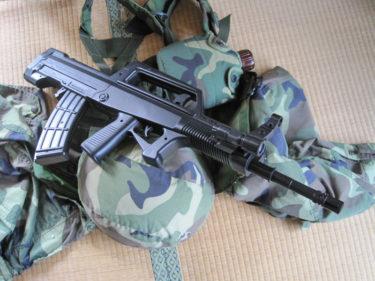 中国的主力歩槍 ~ 95式小銃 (YIKA製・エアコッキング)
