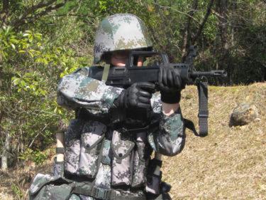 2010年代的陸軍士兵 ~ 中国人民解放軍 陸軍 夏季装備 [林地迷彩]