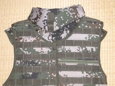 中国版インターセプター・ボディアーマー ~ 中国人民解放軍 06式防弾背心・林地迷彩 (実物)