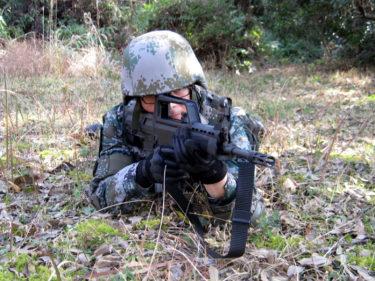2010年代的陸軍士兵 ~ 中国人民解放軍 防弾装備 [林地迷彩]