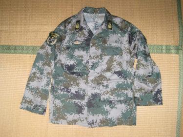 中国人民解放軍 07式作戦服・林地迷彩 (実物)
