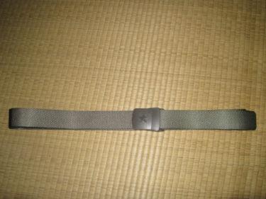中国人民解放軍 07式ズボン用ベルト (実物)