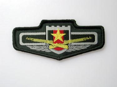 中国人民解放軍 07式胸章/臂章 (実物)