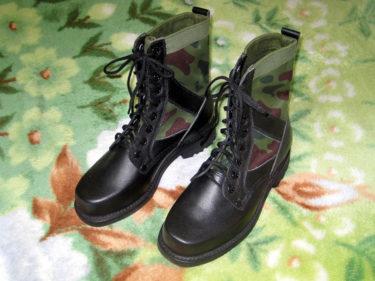 中国人民解放軍 97式作戦靴 (実物)
