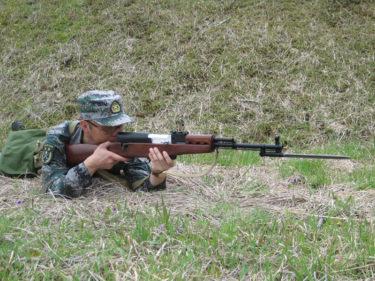 2010年代的中国民兵 ~ 中華人民共和国 民兵装備 [林地迷彩]
