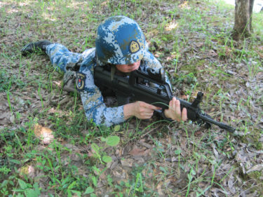 2010年代的海軍士兵 ~ 中国人民解放軍 海軍陸戦隊装備 [海洋迷彩]