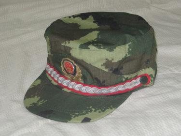 中国人民武装警察部隊 05式武警迷彩帽 (実物)