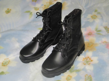中国人民解放軍 07式作戦靴 (実物)