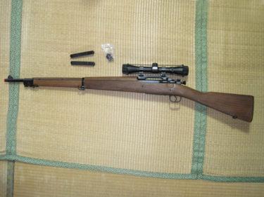 スコープ載せてみた ~ アメリカ陸軍 スプリングフィールド M1903A4 狙撃銃スタイル (S&T製・エアコッキング)
